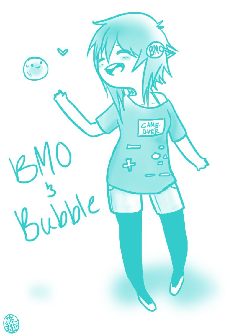 Bmo And Bubble By Optimisticfatality On Deviantart Adventure Time Comics Adventure Time Anime Adventure Time