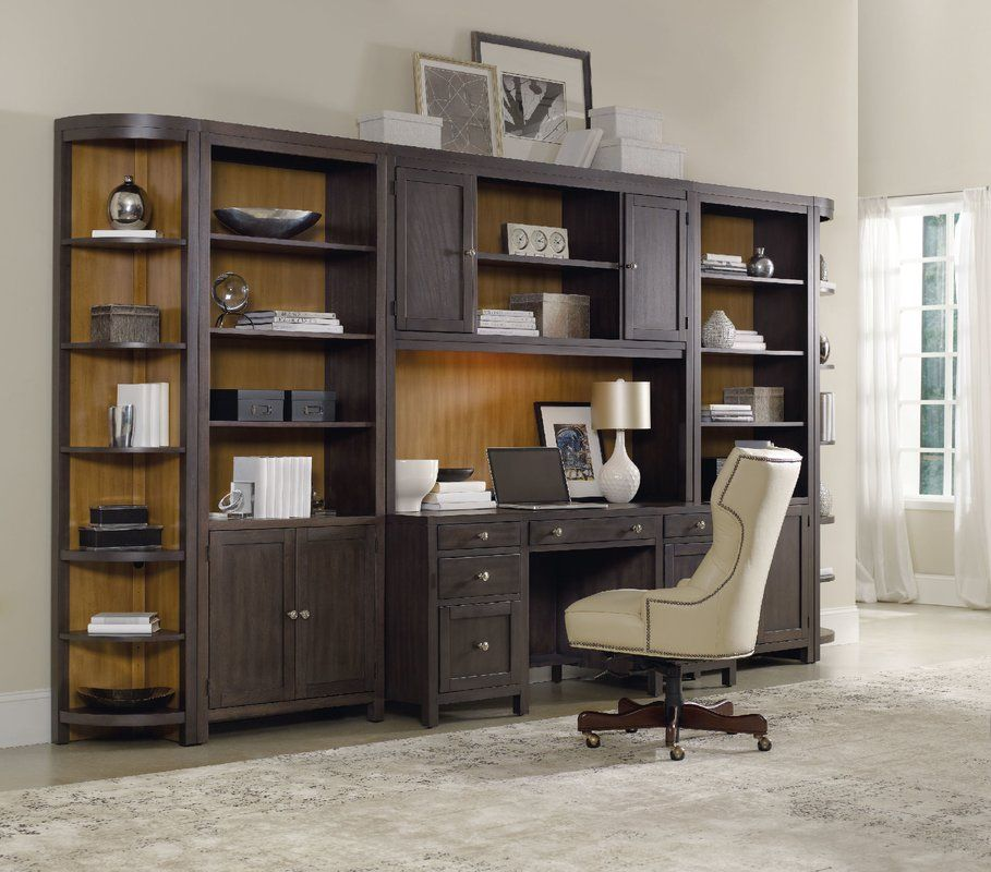 South Park Bunching Library Bookcase Desk Wall Unit Furniture Home Office Furniture