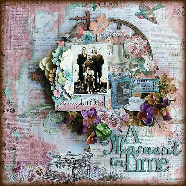 Blue Fern Studios: Three Layouts Featuring Autumn Anthology and Frolic
