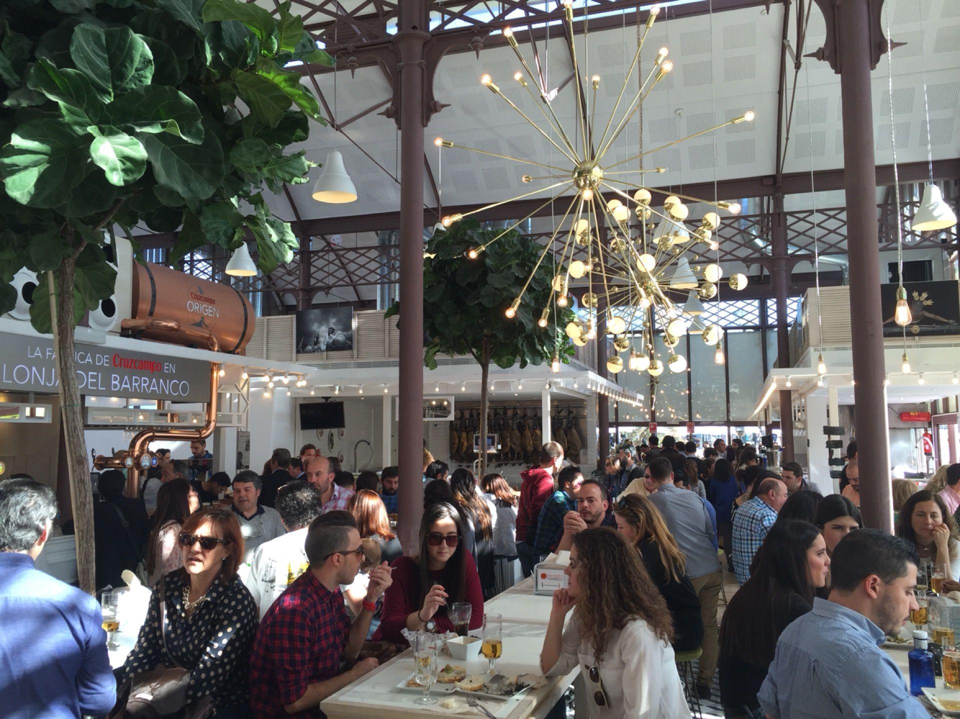 Mercado Lonja Del Barranco Seville Andalucia Spain