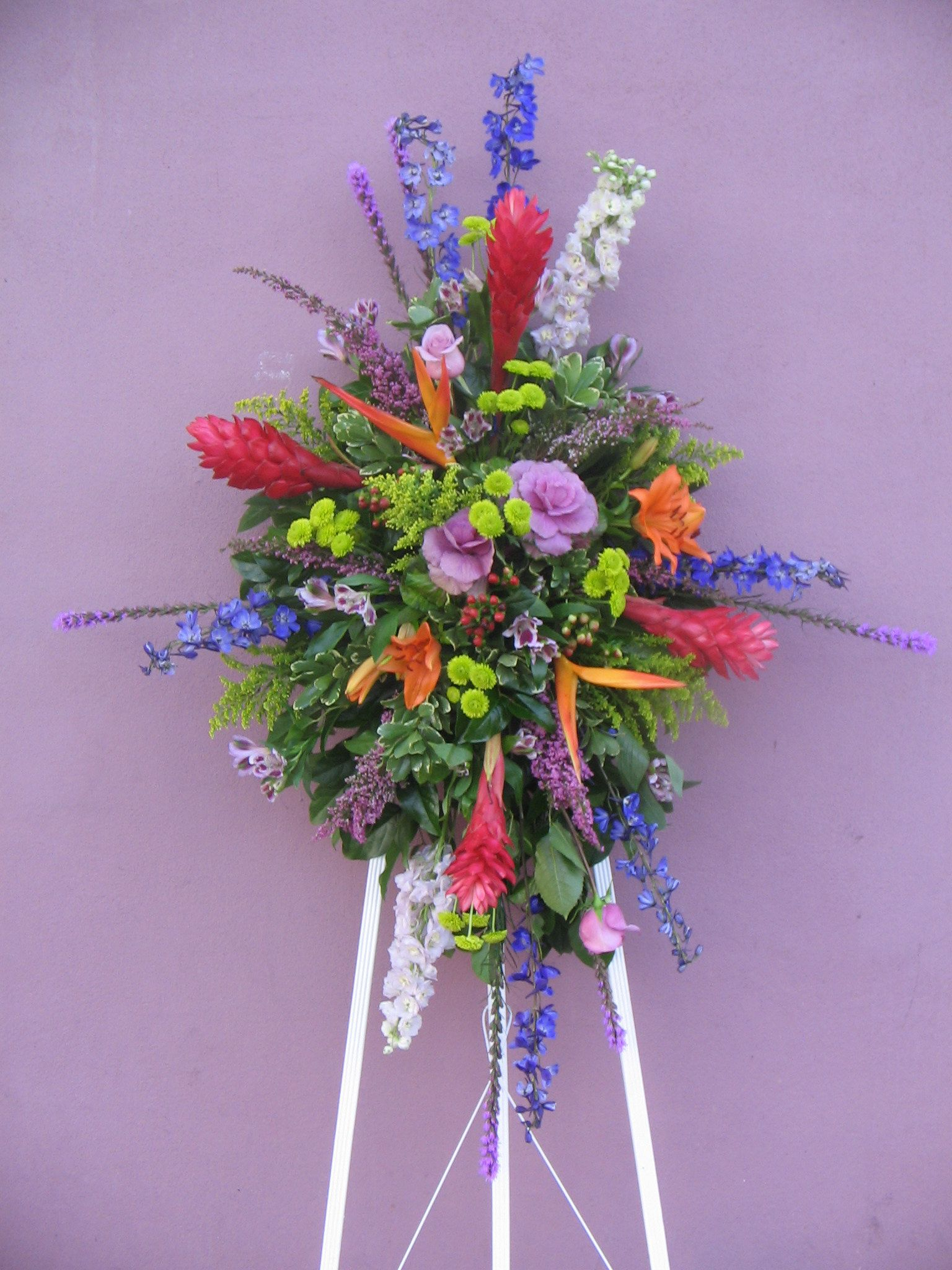 Funeral flowers standing sprays sympathy flowers pinterest funeral flowers standing sprays izmirmasajfo