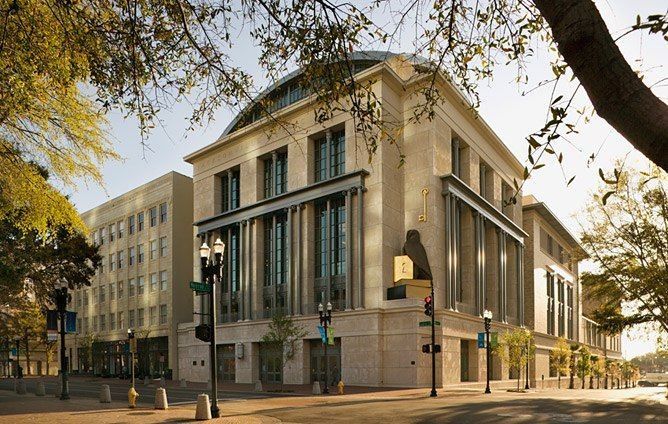 Arch The Jacksonville Public Library In Florida Combines Classical Architectural
