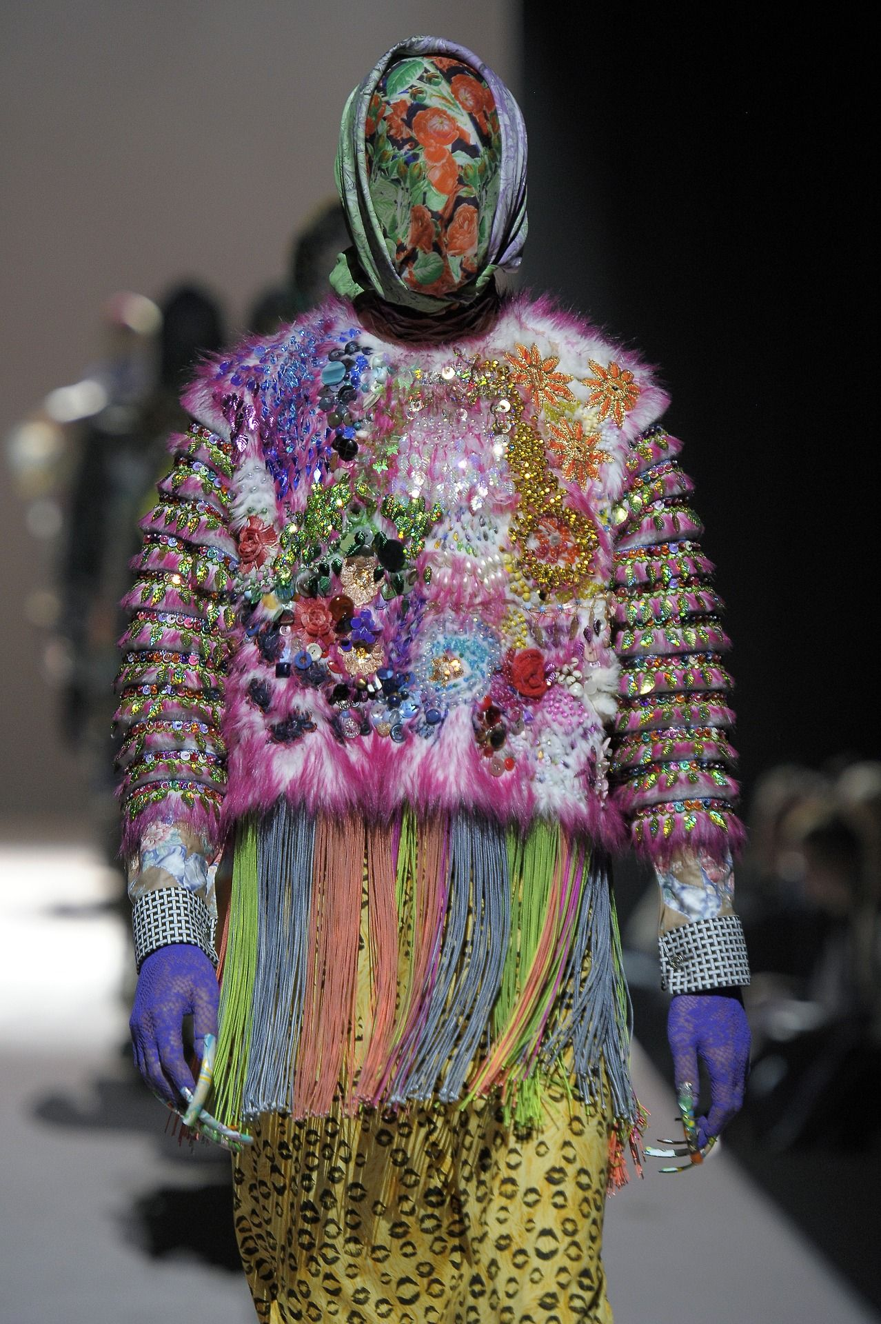 Why Are Runway Clothes So Weird: Bowerbird Graduation Collection By Manon Kündig, 2012