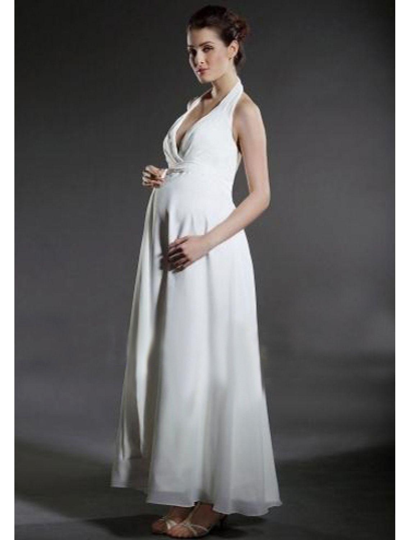 Beste und billige hochzeitskleider für schwangere standesamt ...