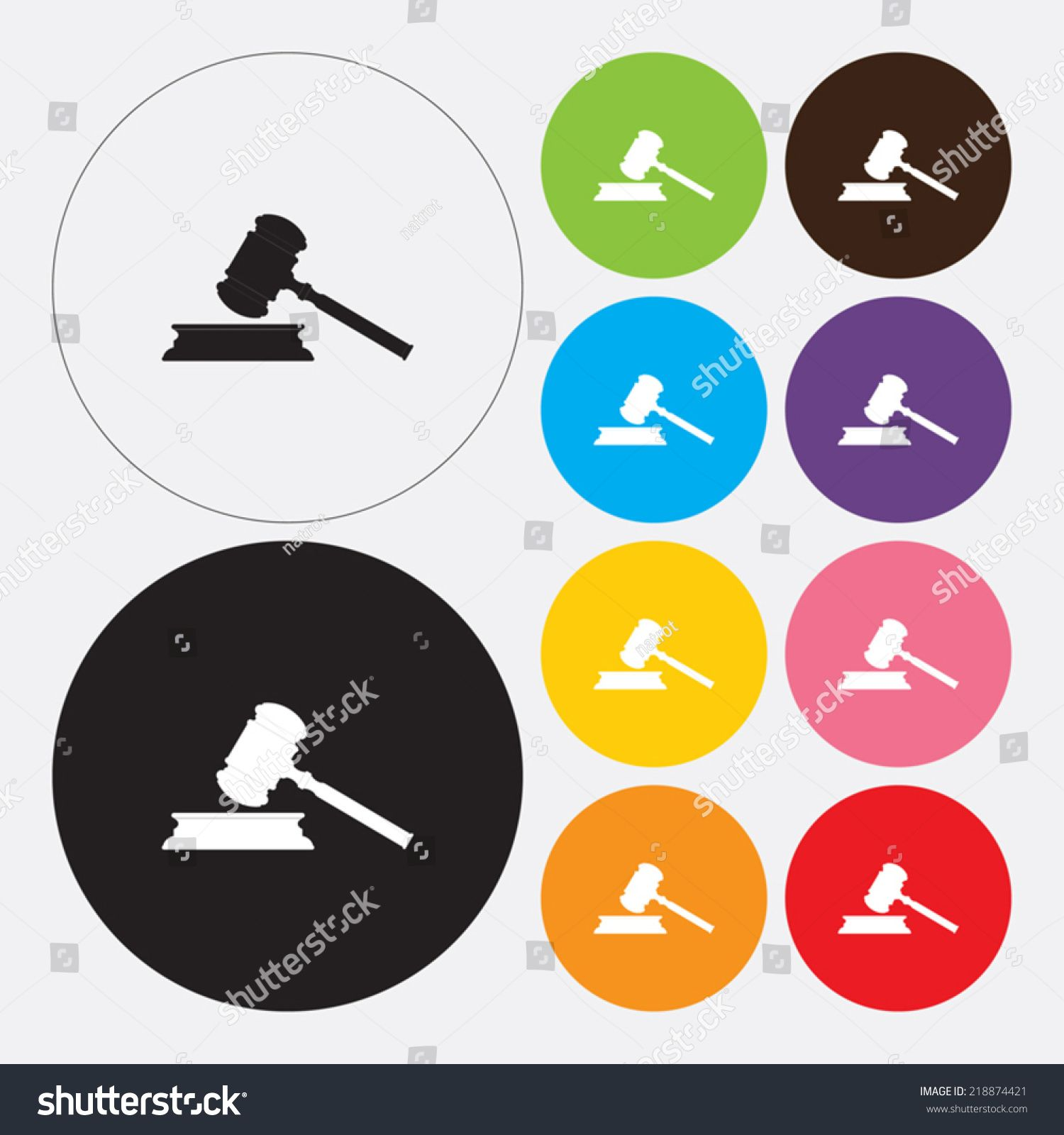 Gavel icon - Vector #Ad , #AFFILIATE, #Gavel#icon#Vector