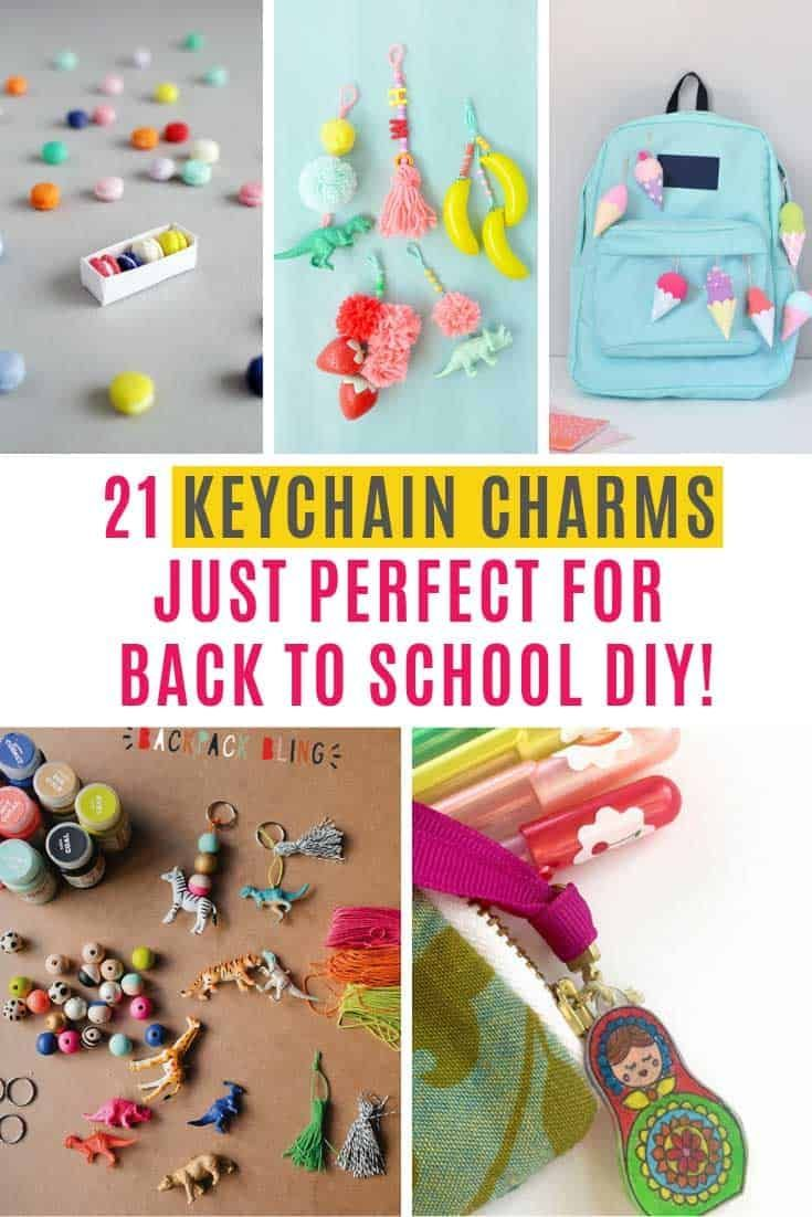 These DIY Keychain Charms Make the Cutest Gifts Ever