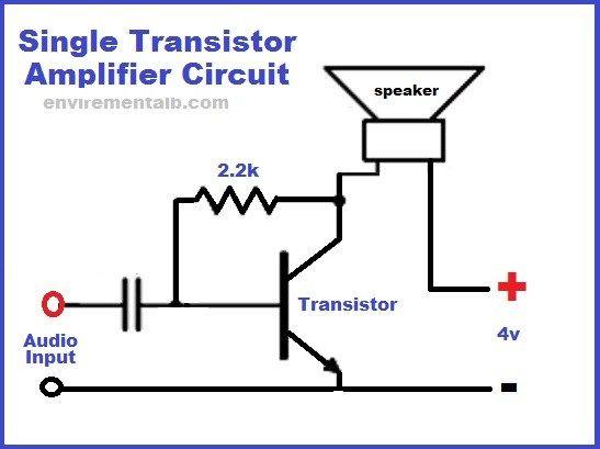 Single Transistor Amplifier Circuit | Envirementalb.com in ...