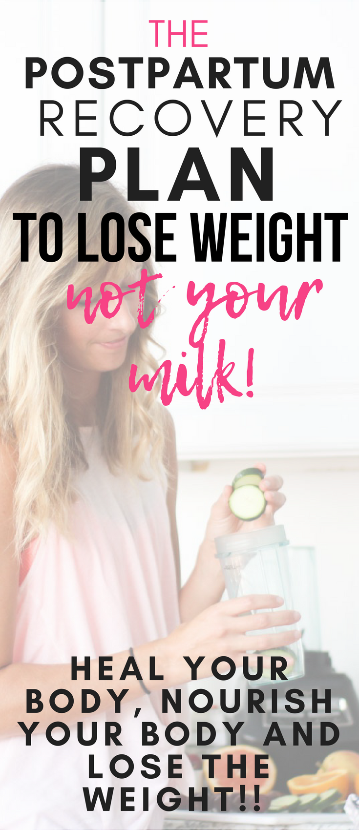 The Postpartum Recovery Plan To Lose Weight Without Affecting Milk Supply | The Postpartum Cure