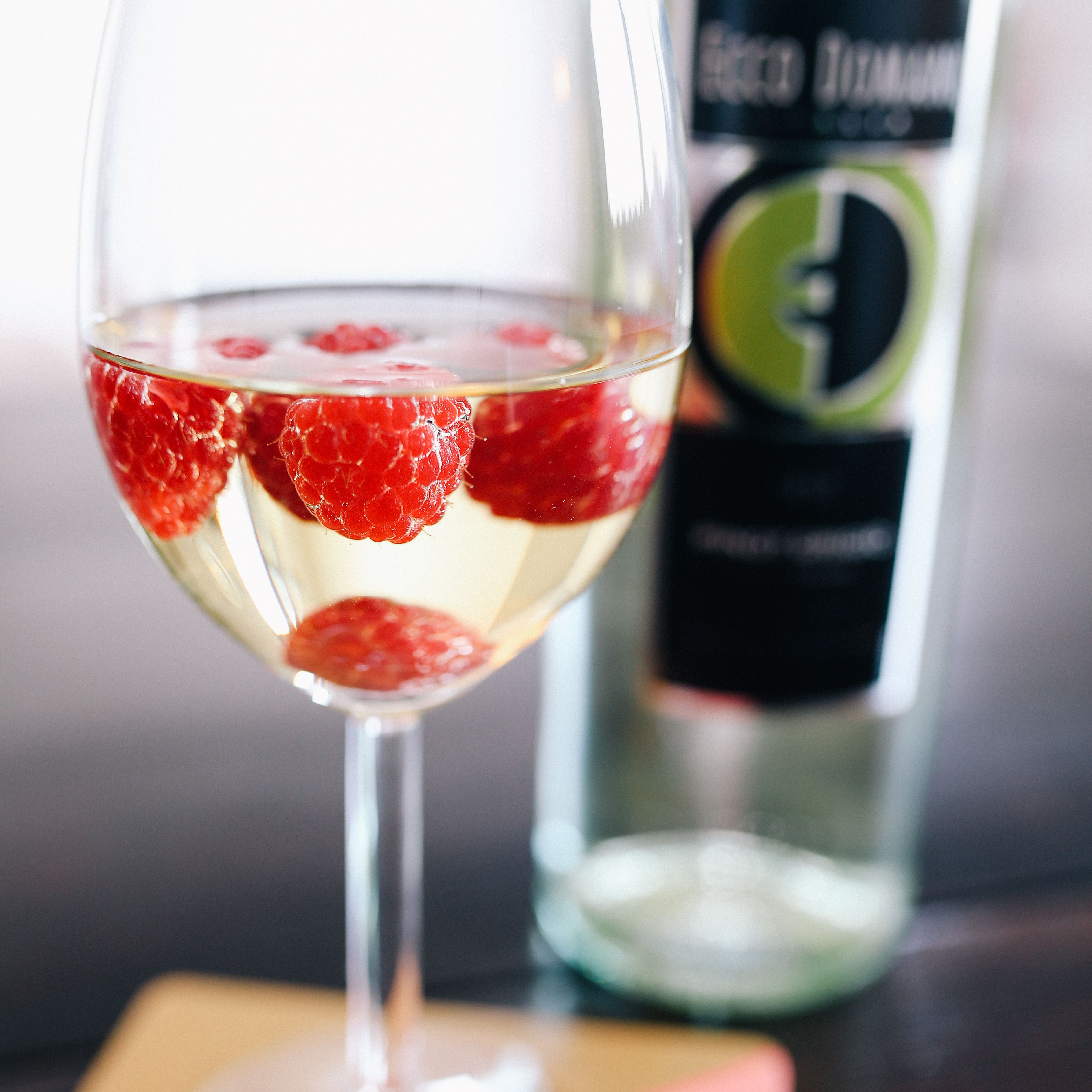 Raspberries Freshen Up A Glass Of Our Pinot Grigio Yummy Drinks Fun Drinks Food