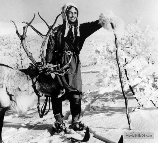 Valkoinen Peura Publicity Still Of Mirjami Kuosmanen White Reindeer Blomberg Sci Fi Horror