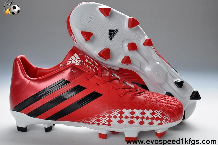 Best gift 2013 adidas predator fg red football shoes store
