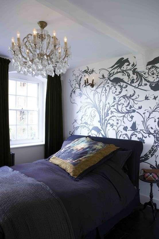 Stencil per la tua casa - Stencil per camera da letto | Stenciling ...