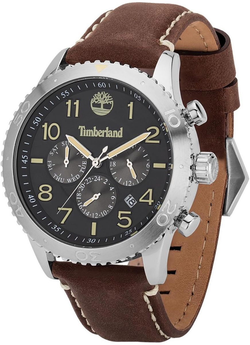 najlepiej kochany buty jesienne wiele kolorów Souq | Timberland Men's Black Dial Leather Band Watch ...