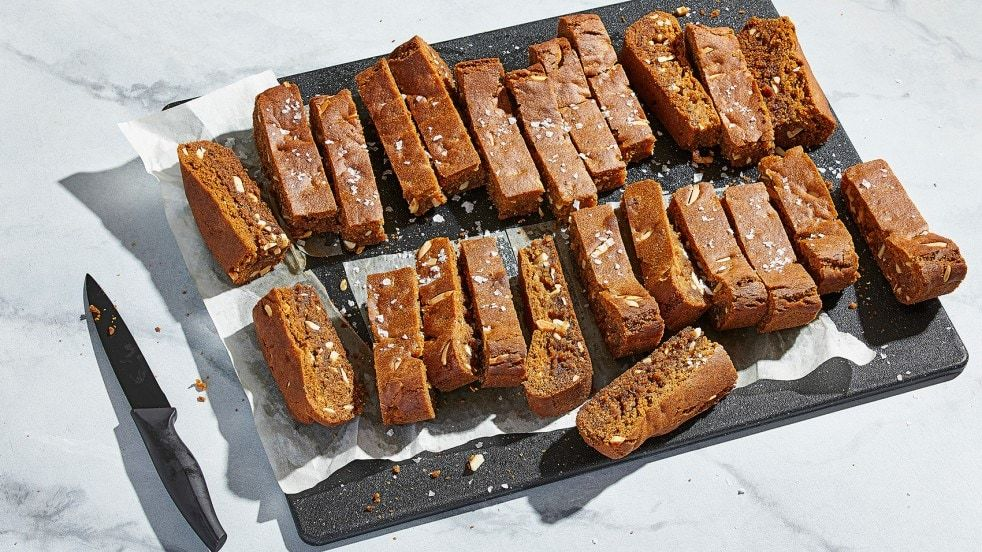 Salted Honey Bars With Thyme Recipe Food, Just