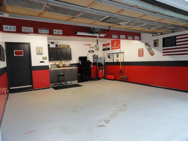 Gt500 Updated Garage Garage Makeover Garage Floor Garage Room
