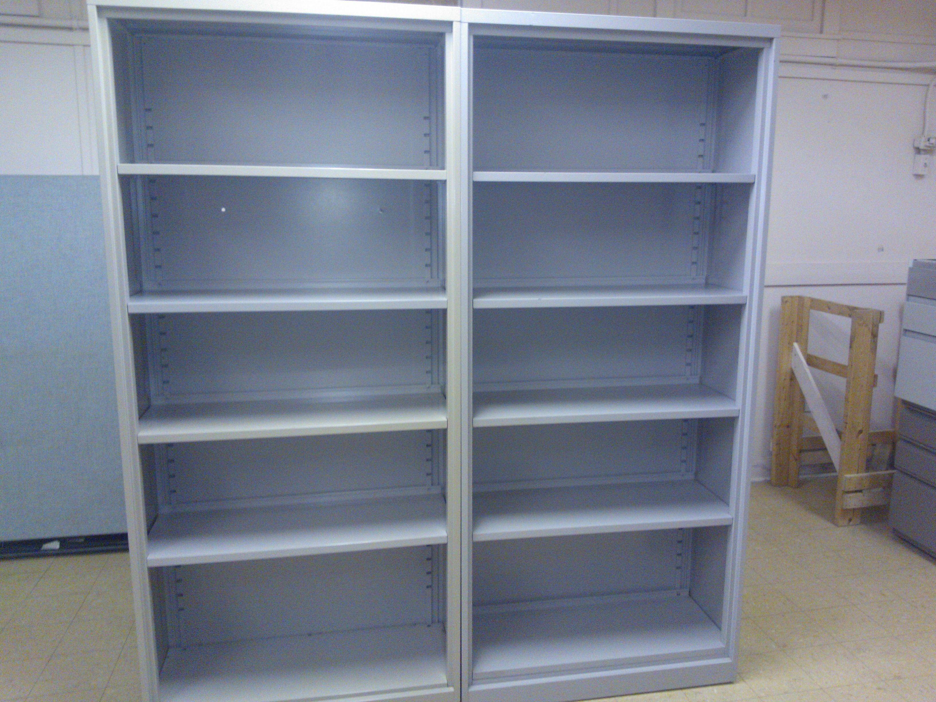 Used steel book shelves for sale at discounted prices Book Case