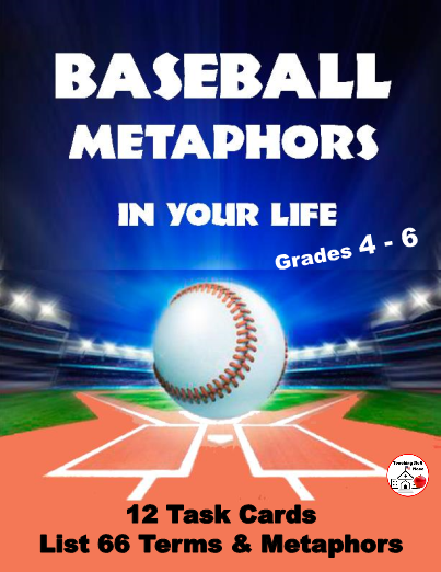12 Cards with Baseball Metaphors a MUST for every