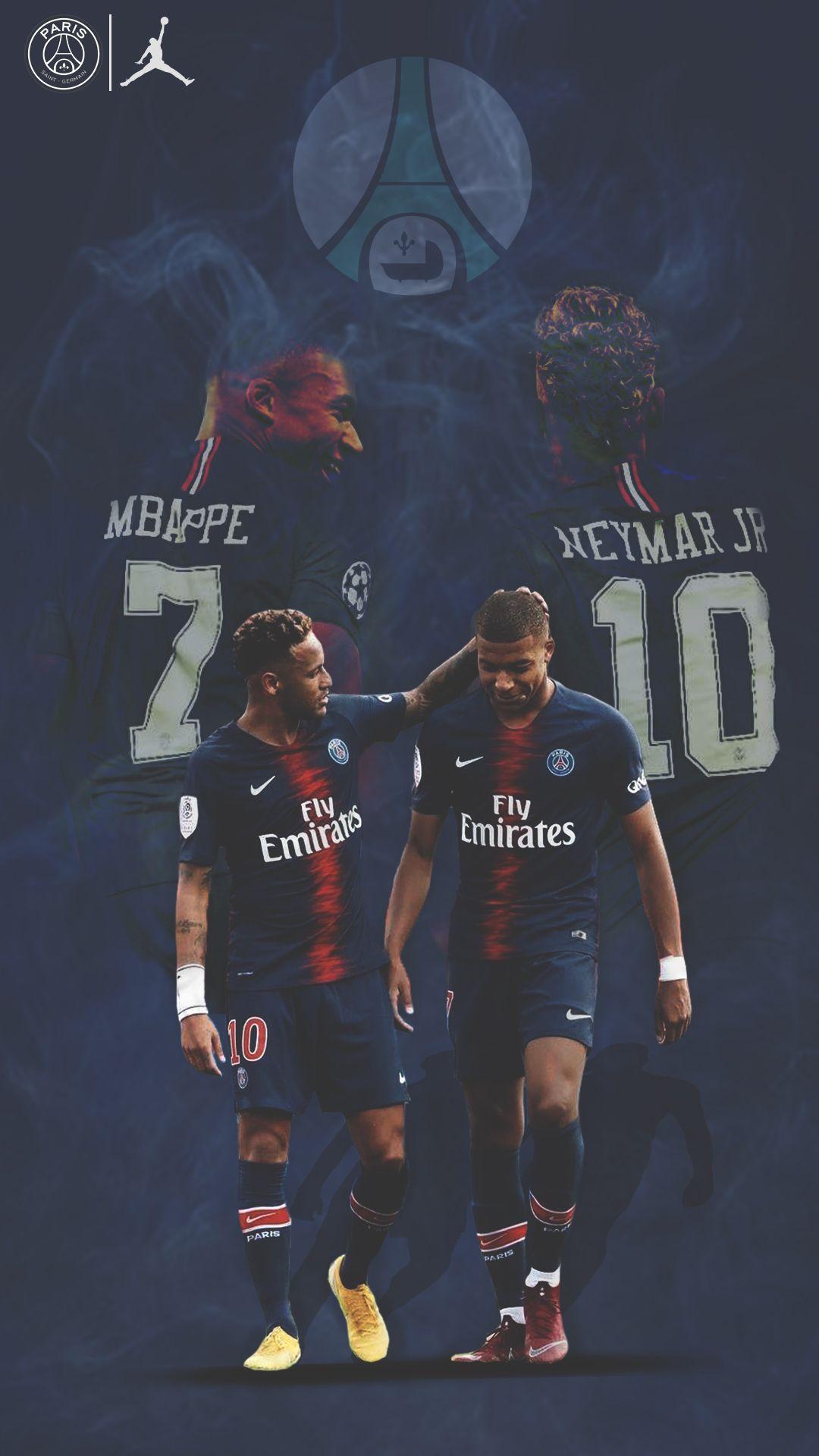 "Neymar Kylianmbappe Psg Wallpaper Mercurial France Brazil ̘¤ì›¬ ̃Œë"""" Joueur De Football Images De Football Fond D Ecran Foot"