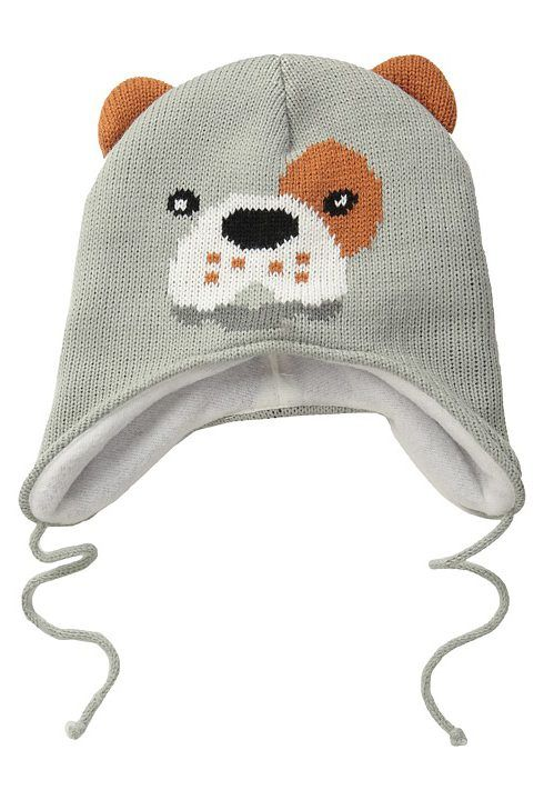 San Diego Hat Company Kids Fleece Lined Dog Beanie with Ear Covers ...