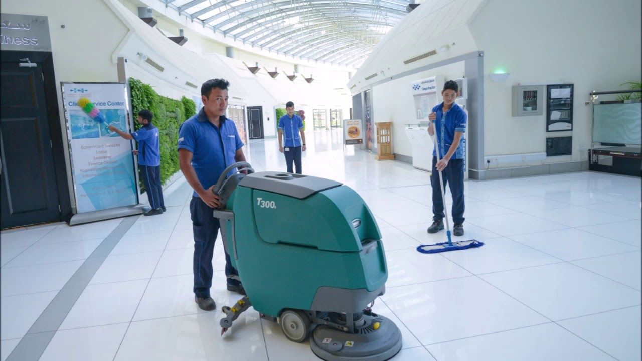 Government Building Cleaning Services And Cost Edinburg Mission