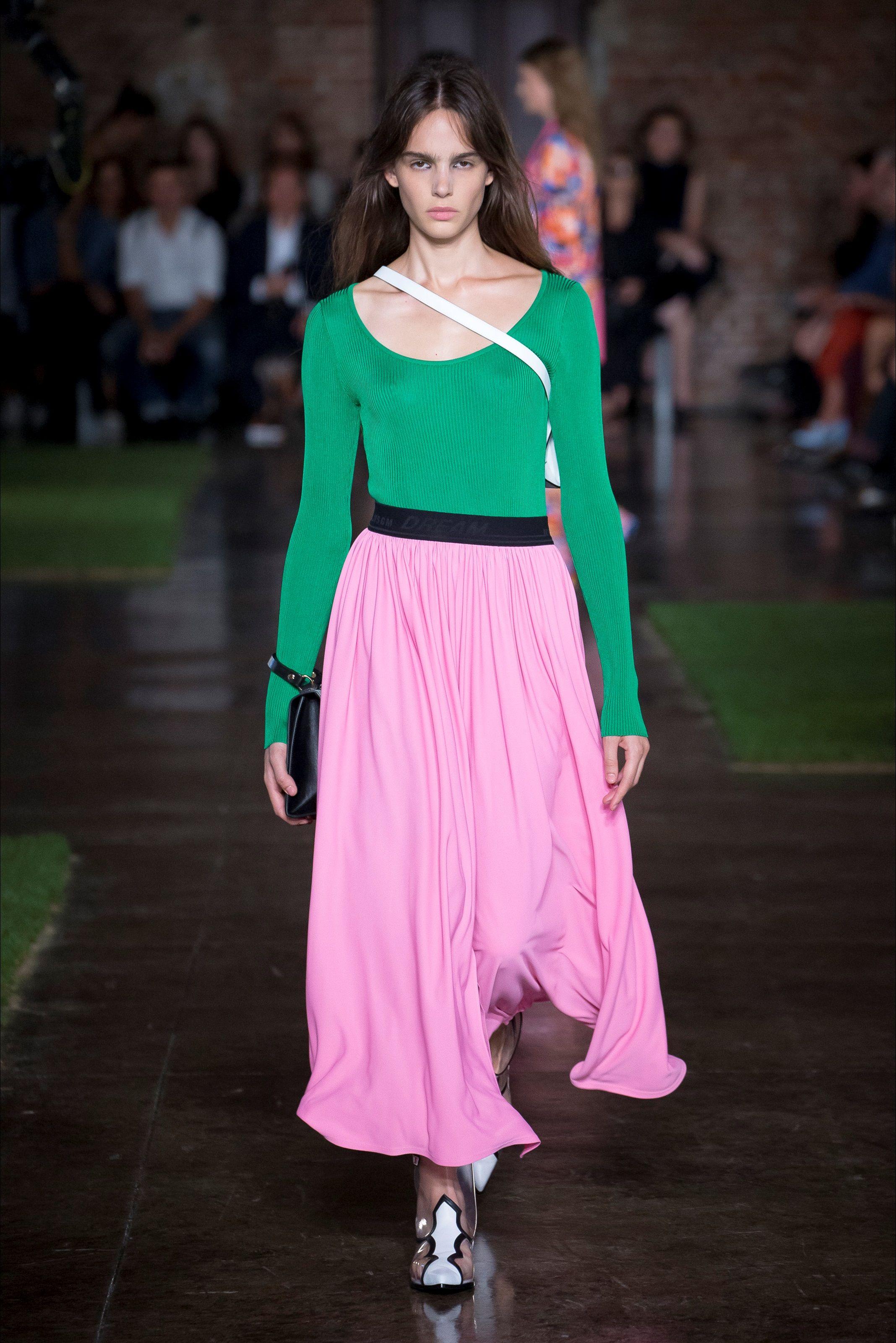 ac5e04dba3 Sfilata MSGM Milano - Collezioni Primavera Estate 2019 - Vogue ...