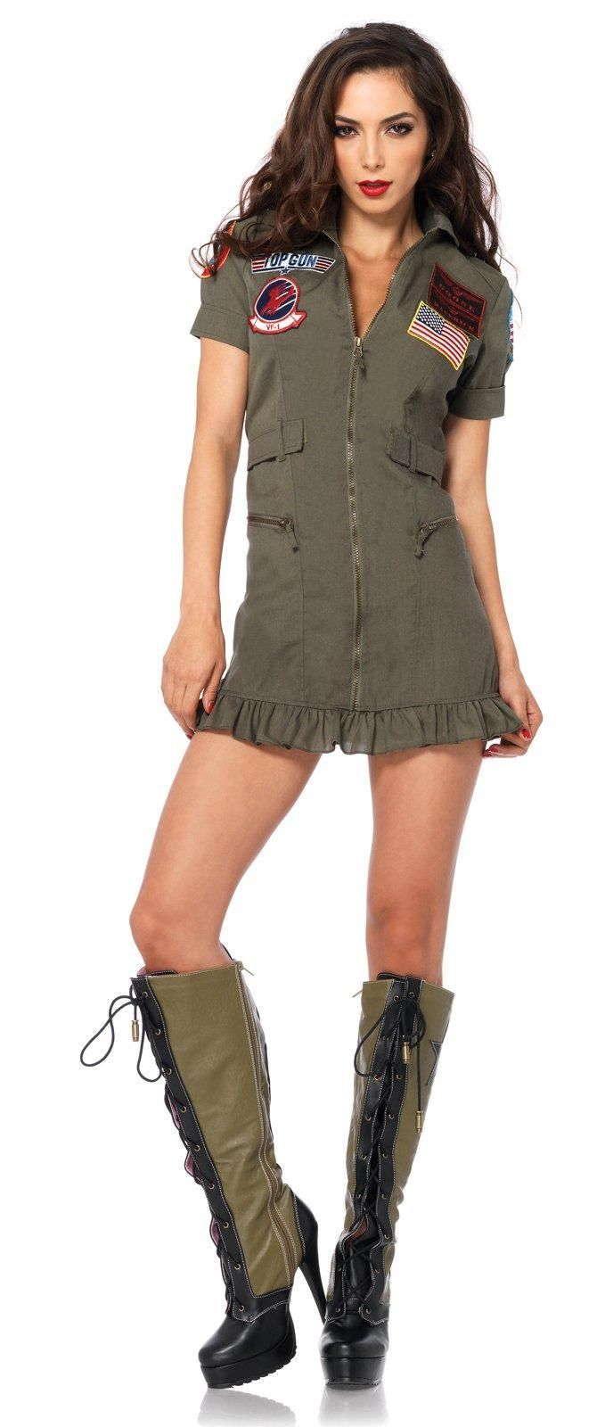 Top Gun Women s Flight Dress Adult Costume from Buycostumes.com caef731d1