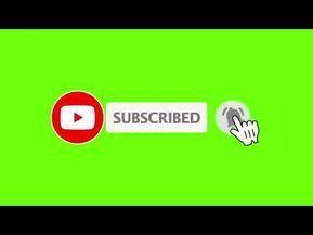 Animasi Tombol Subscribe Green Screen Untuk Video Youtube Youtube Video Design Youtube Greenscreen First Youtube Video Ideas