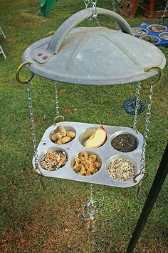 17 Adorable Birdfeeders Using Things You Already Own #gartenupcycling