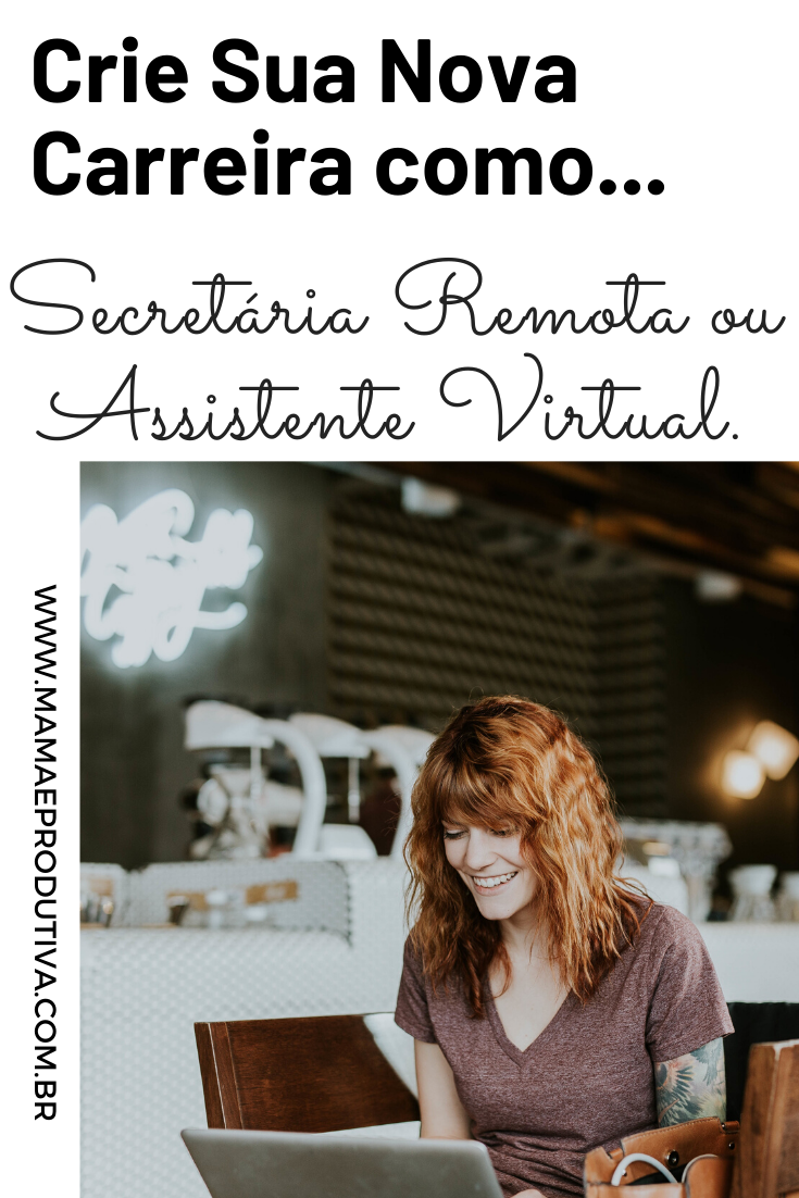 Secretária Remota ou Assistente Virtual