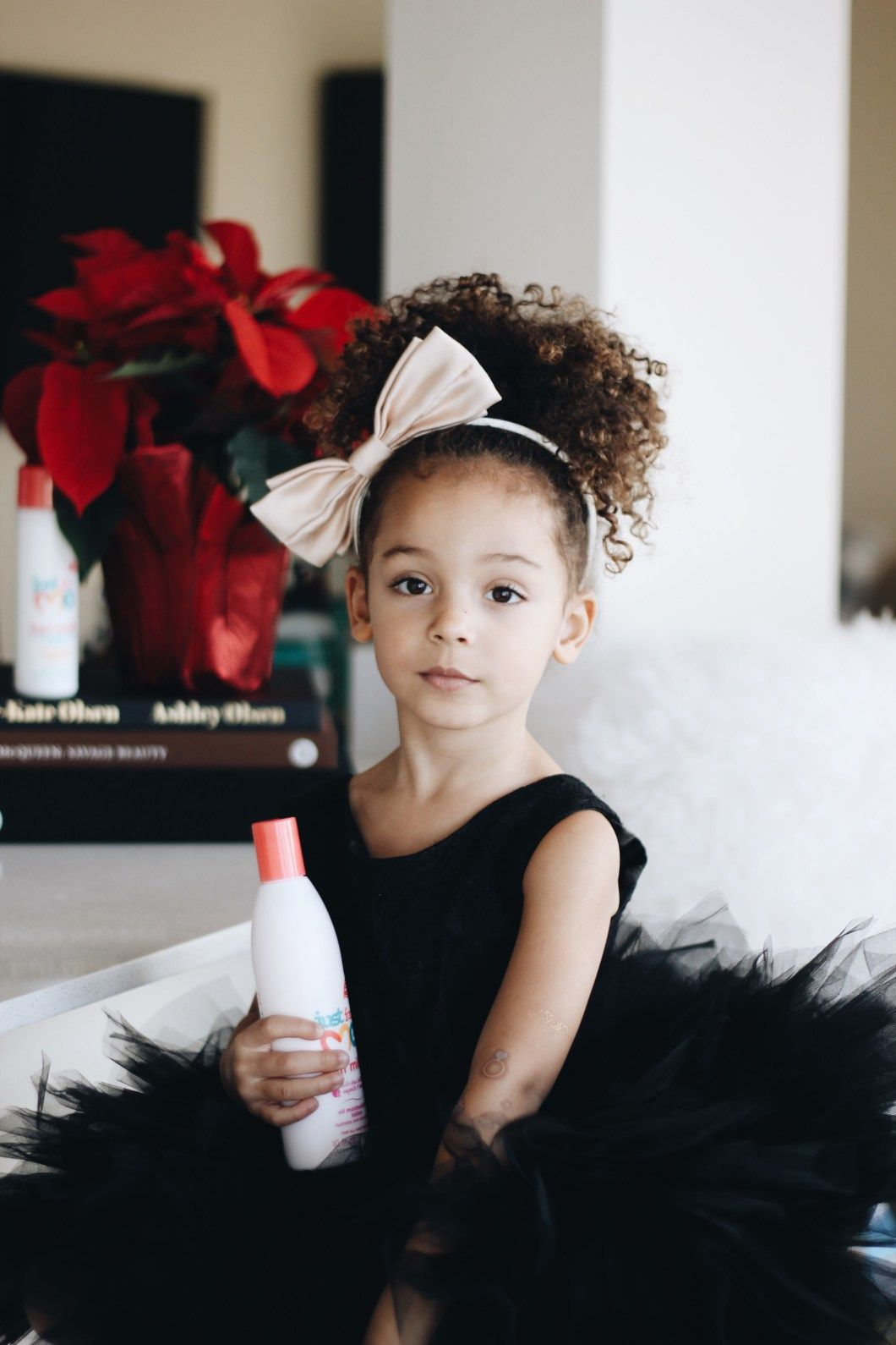 6 Holiday Hairstyles For Curly Kids Curly Kids Kids