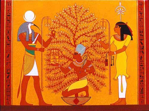 Image result for thoth y seshat
