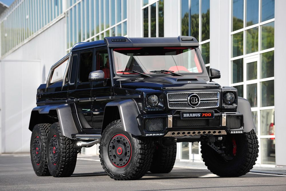 Mercedes Benz G63 Amg B63s 700 6x6 By Brabus With Images