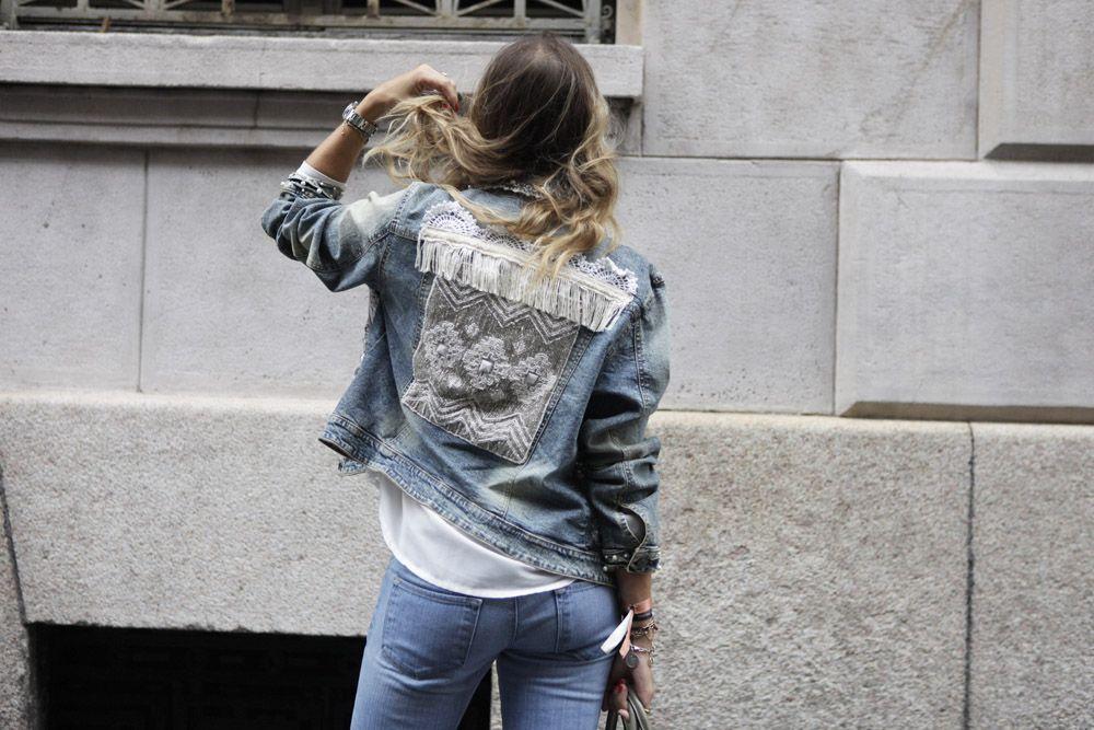 best authentic d980d ba14b Come abbinare una giacca di jeans personalizzata | The Ugly ...