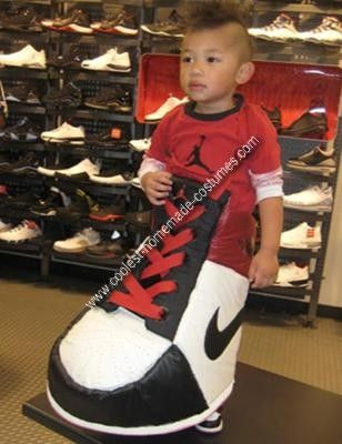 Coolest Homemade Nike Air Jared Costume