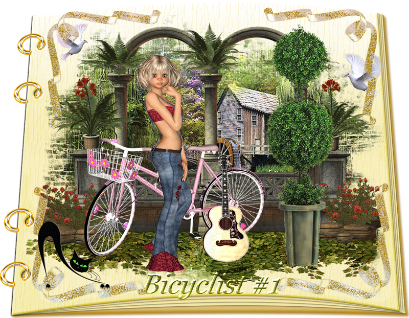 Design Wilds Cat: Vector Bicyclist Collection #1 Велосипедисты