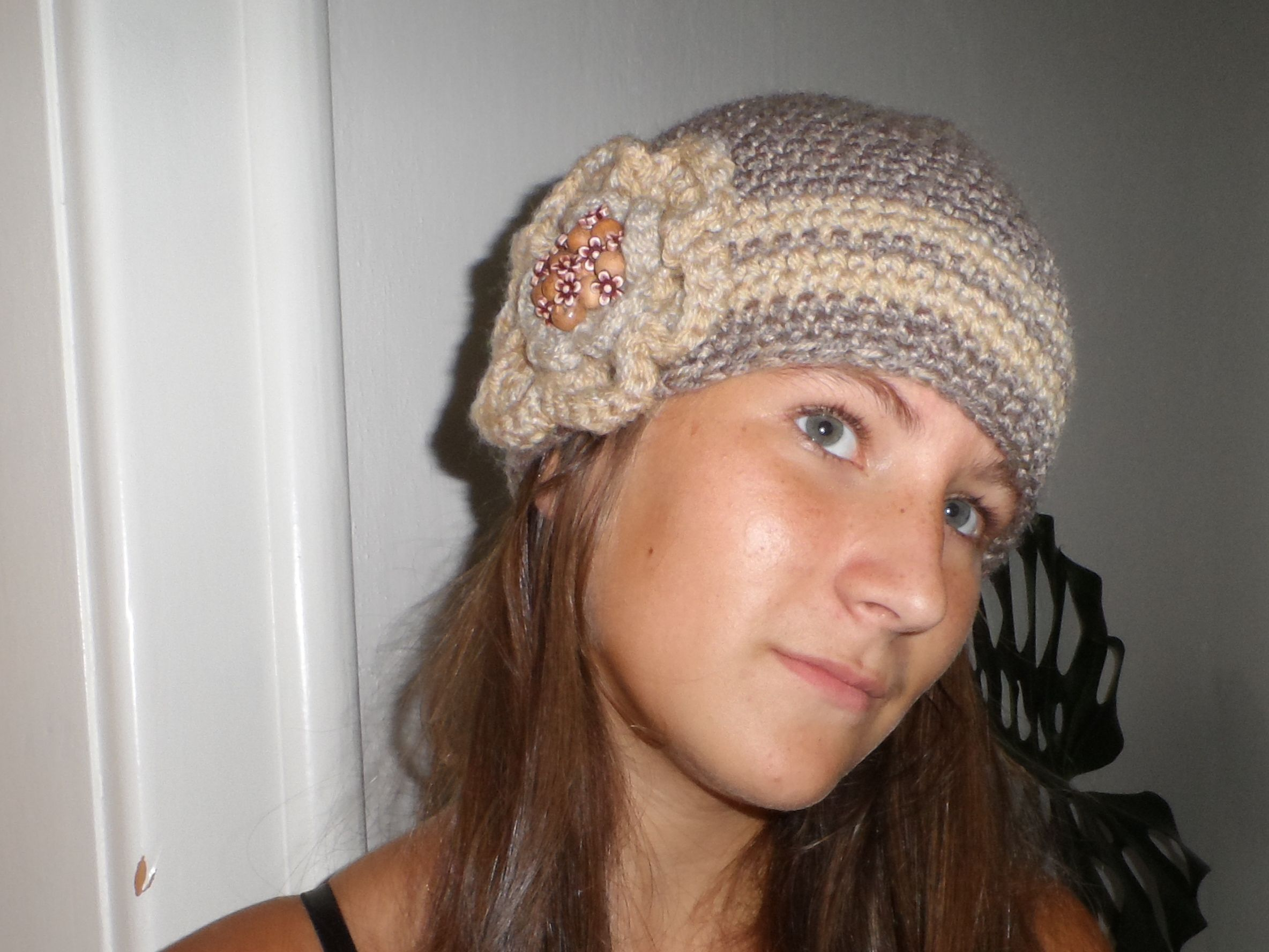 Women Crochet Beanie..