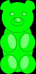 Green Gummy Bear Clip Art Gummy Bears Gummies Clip Art