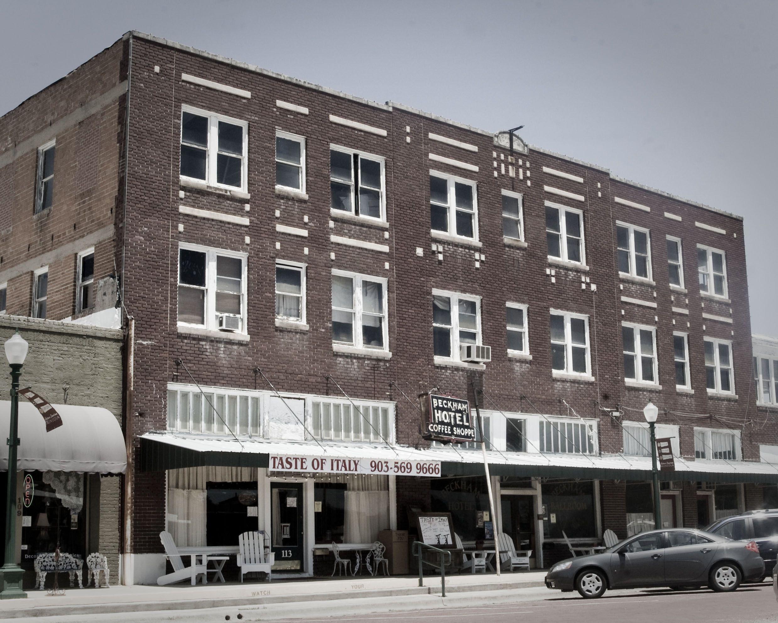 Beckham Hotel Mineola Texas Mineola Texas Mineola Hotel