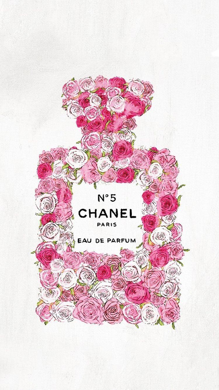 Chanel N 5 Wallpaper Chanel Wallpapers Chanel Art Fashion Wall Art