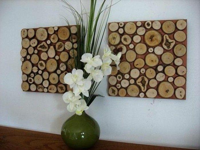 Attraktiv Bescheiden Deko Aus Holz Selber Bauen Wandgestaltung Machen