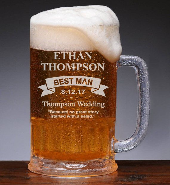 Groomsmen Beer Mugs Personalized Gifts Wedding Gifts For Men