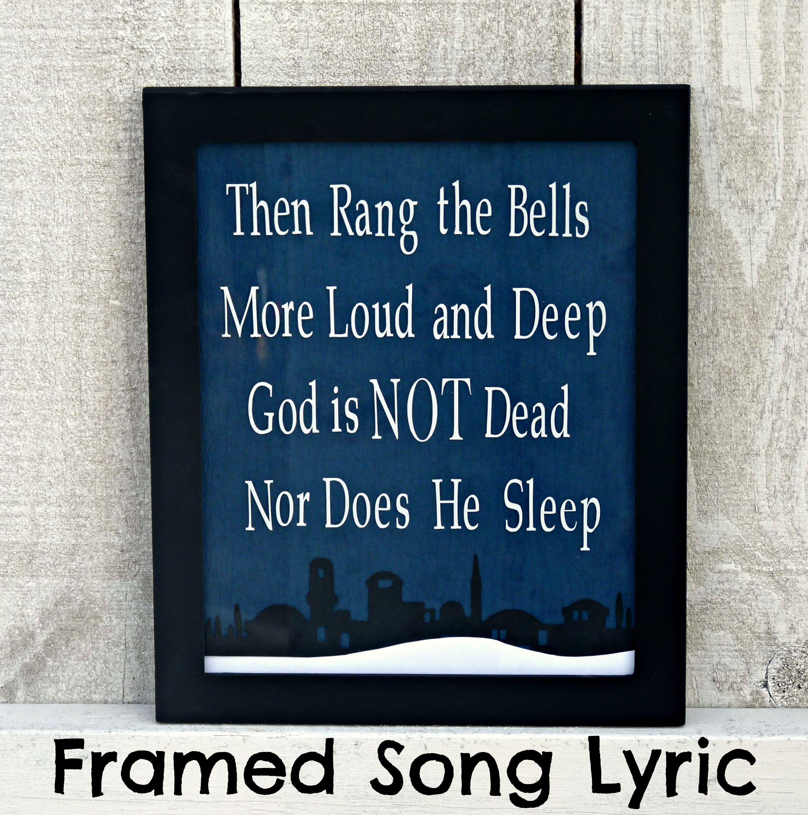 Framed Christmas LyricOne Artsy Mama Christmas lyrics