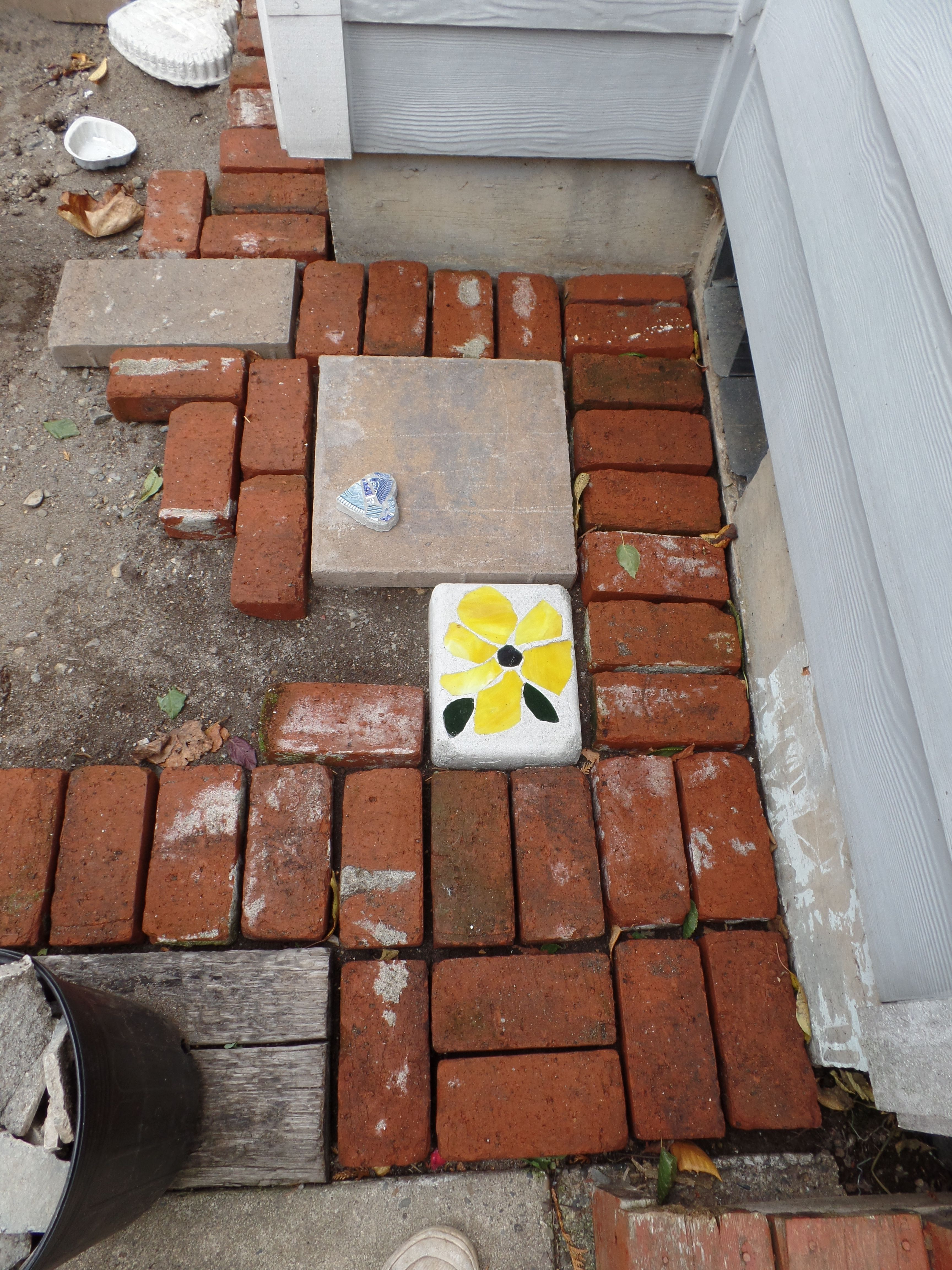 The start of my patio,,, Diane Erickson (With images