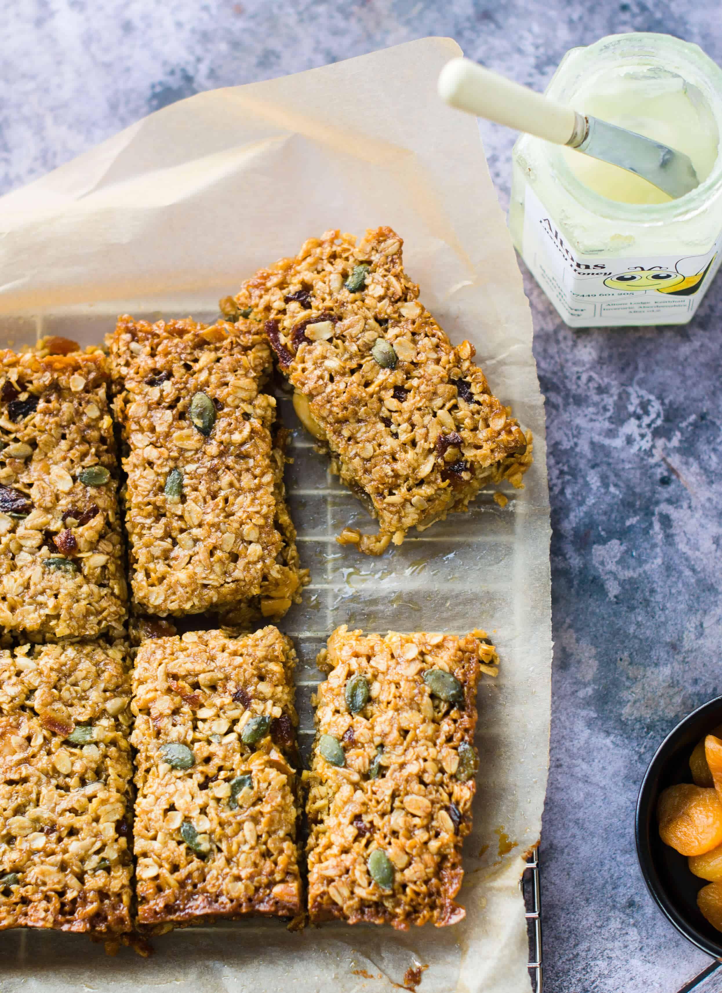 47 Recipe Tasty Fruity Flapjacks: Apricot, Almond & Honey Flapjacks In 2020