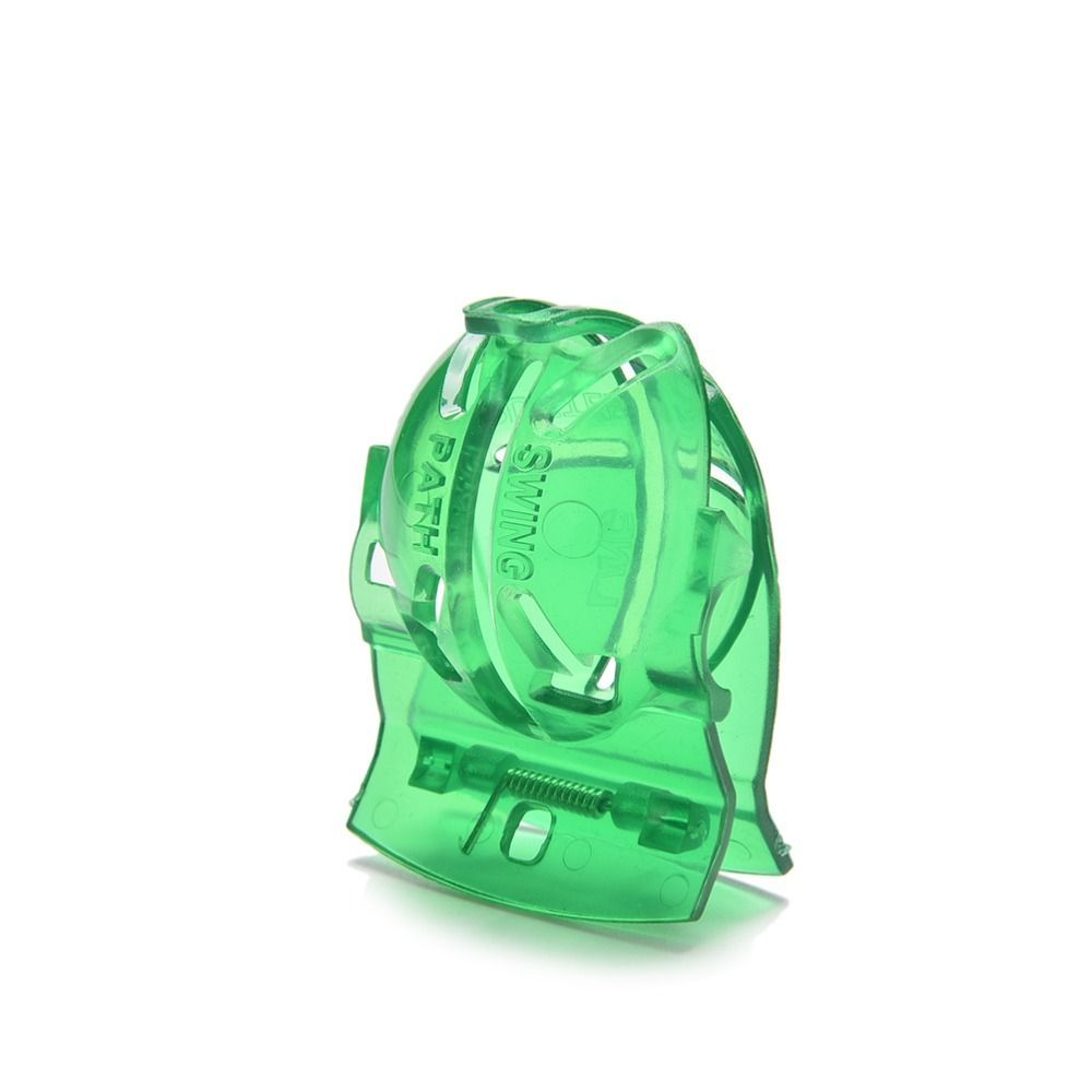 Free Gift 1pc Hot Green Plastic Convenient Golf Ball Liner Marker