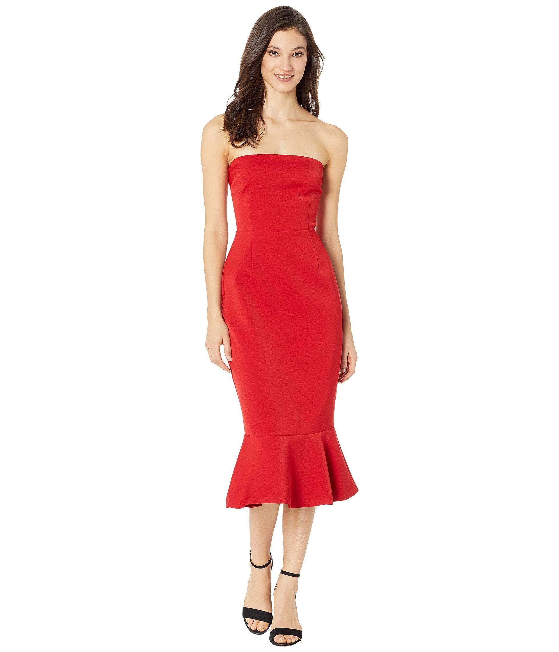Bb Dakota Light My Fire Strapless Dress At Zappos Com Dresses Twist Wrap Dress Twisted Dress [ 2240 x 1920 Pixel ]