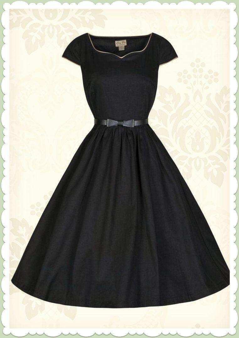 Lindy Bop 50er Jahre Vintage Rockabilly Petticoat Kleid - Tara ...