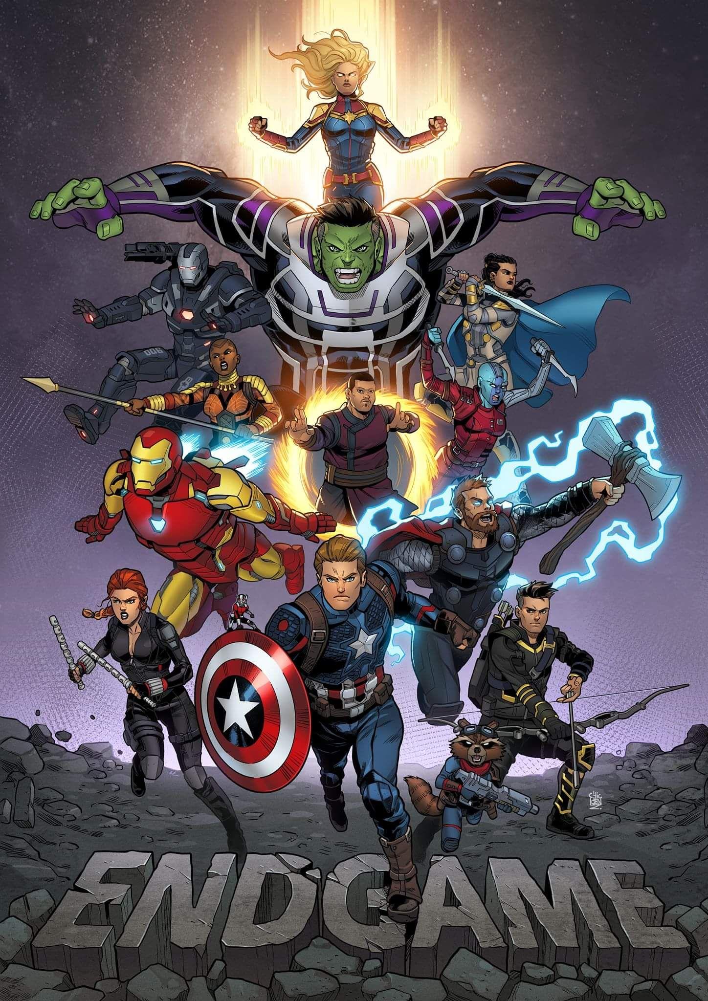 Avengers Endgame Fan Art By Chickenz Avengers Cartoon Marvel Avengers Funny Avengers Wallpaper
