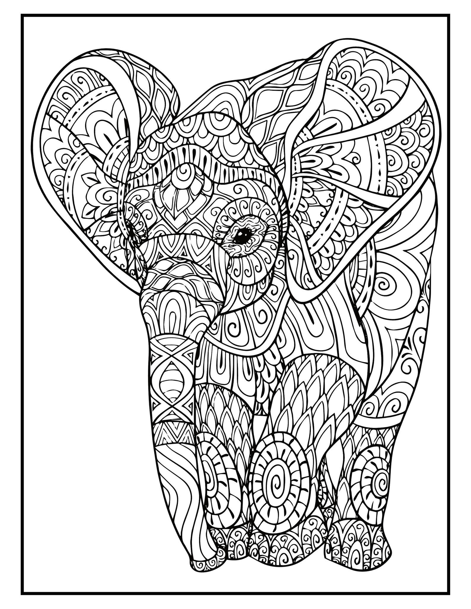 Elephant Mandala Coloring Pages 50 Page Elephant Coloring Book For Adults And Kids Printable In 2021 Elephant Coloring Page Mandala Coloring Mandala Coloring Pages [ 2055 x 1588 Pixel ]