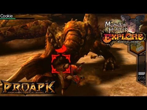 Monster Hunter Explore Gameplay Diablos Boss Fight Ios Android Youtube Monster Hunter Monster Hunter Games Gameplay